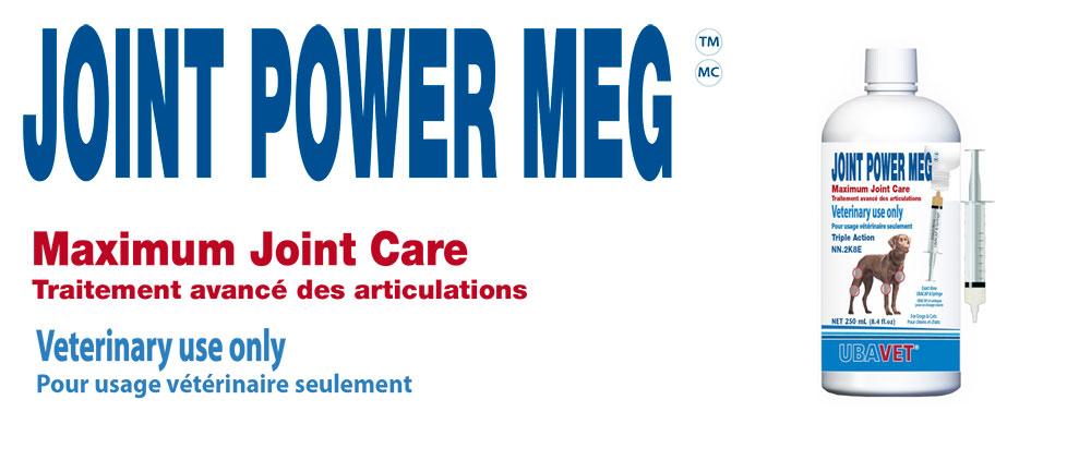 Joint Power Meg Maximum Joint Care Ubavet