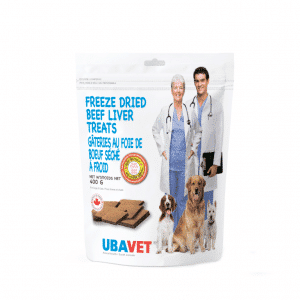 ubavet beef liver treats