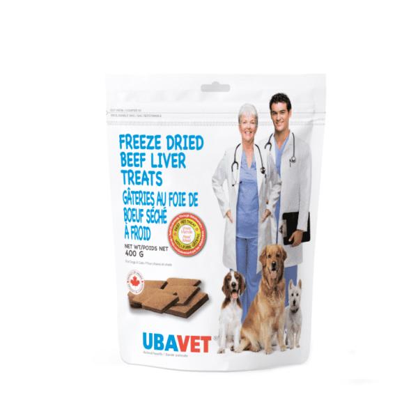 ubavet beef liver treats