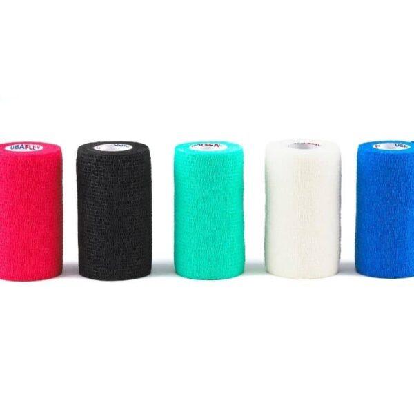 different colours ubaflex bandages